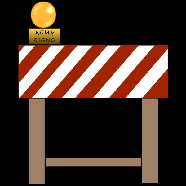 Turn around sign