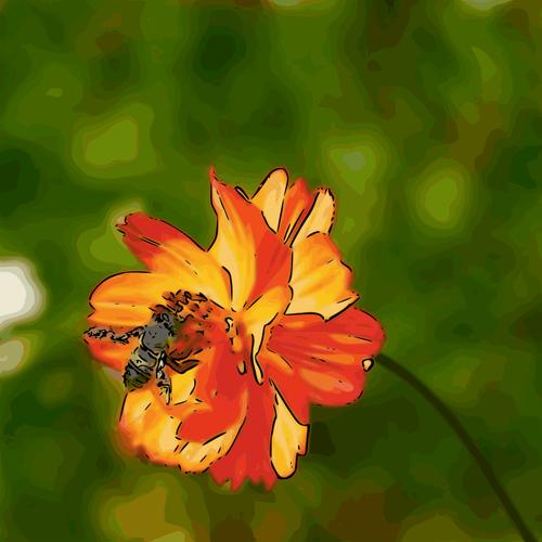 bee n flower01