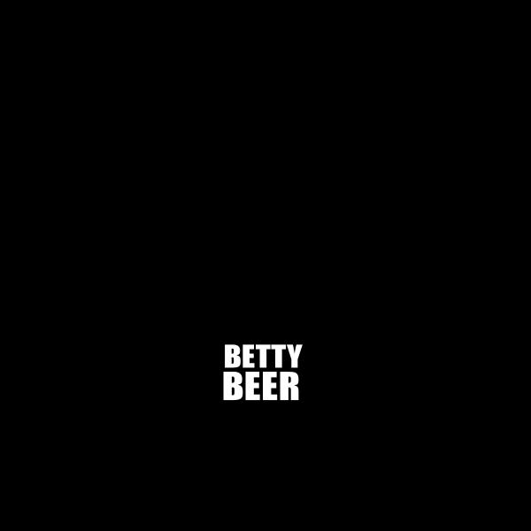 Beer bottle in retro style