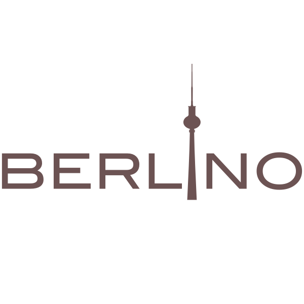 Berlin logotype in Italian