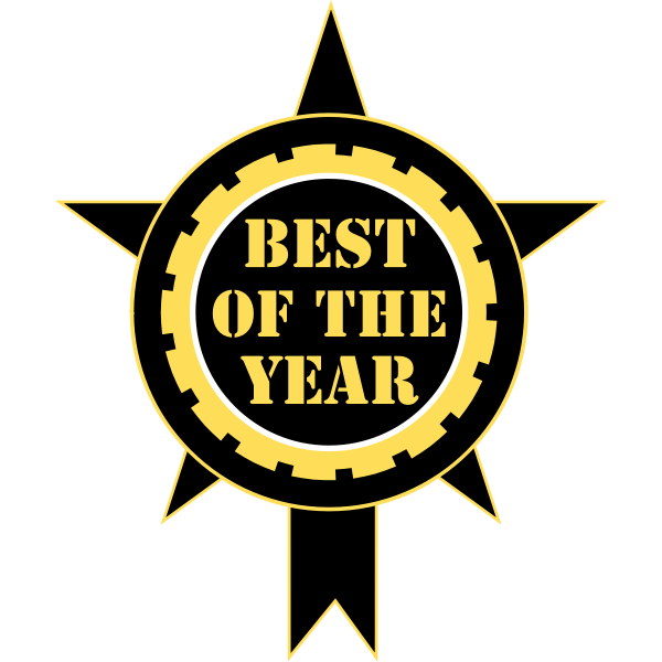 Best Of The Year Sticker