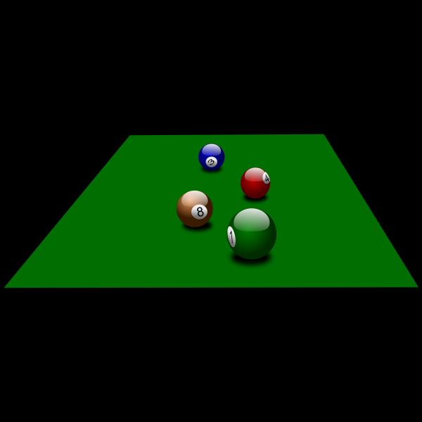 Billiard balls