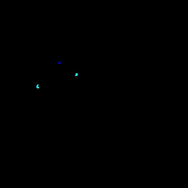 Drawing of bluebird standing on a cavity nest