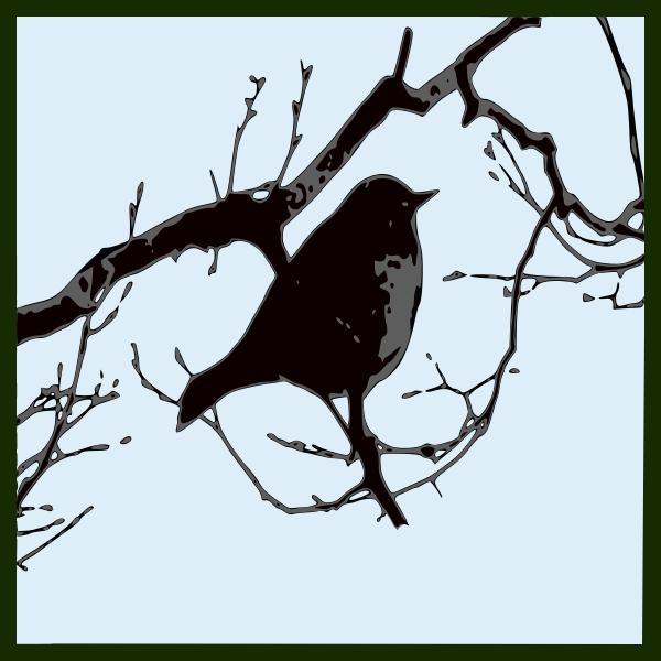 bird silhouette 04
