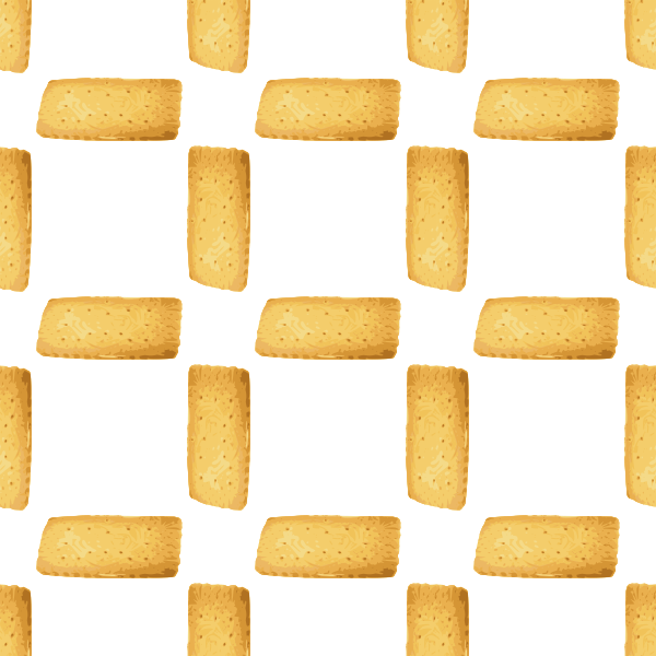 biscuit seamless pattern