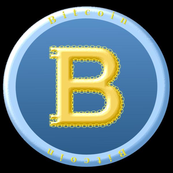 Bitcoin coin symbol