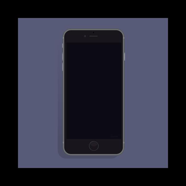 black IPHONE 6 BW OC rev3
