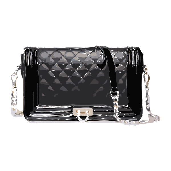 black bag clasp