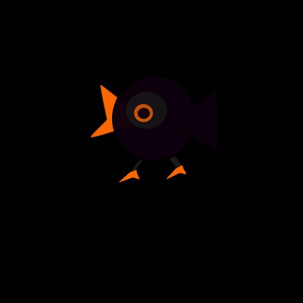 Cartoon image of a bird
