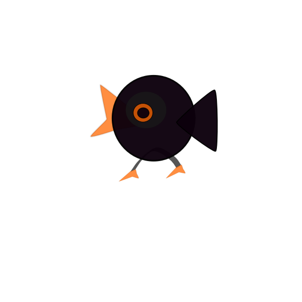 Cartoon image of a bird