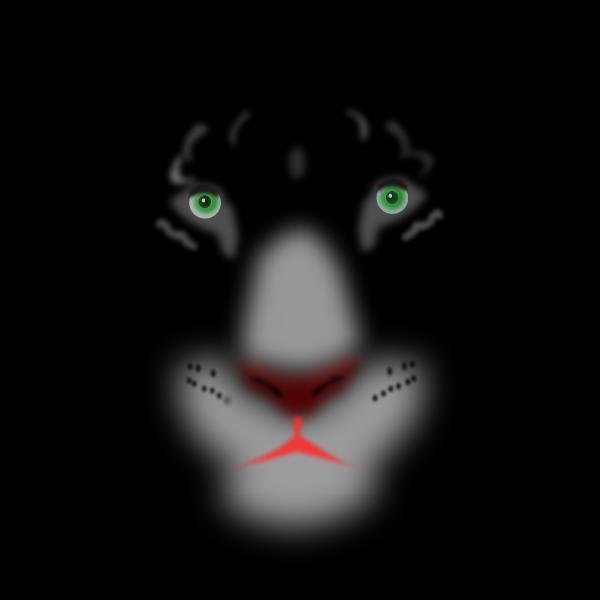 Black panther drawing