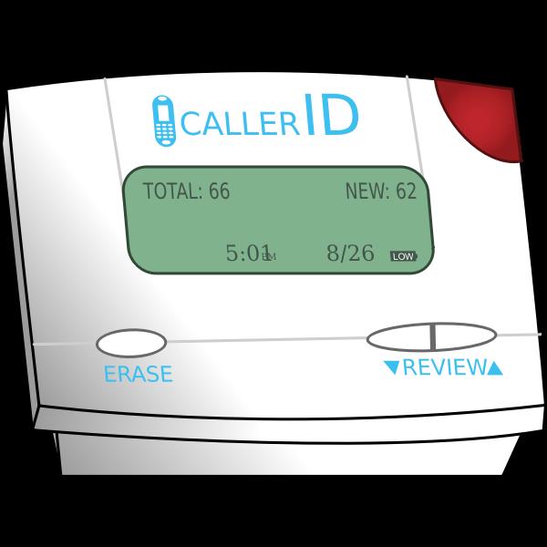 Caller ID   Free SVG