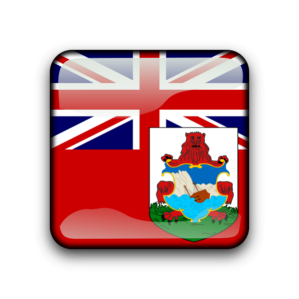 Bermuda flag button