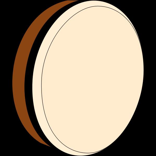 Bodhrán drum vector image