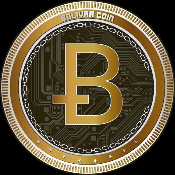Bolivar coin symbol