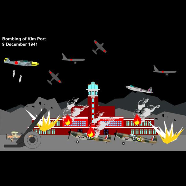 bombing of kp 9 dec 1941 3