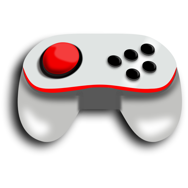 Joystick vector illustration