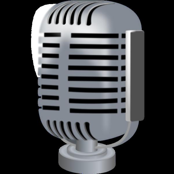 Microphone vector clip art