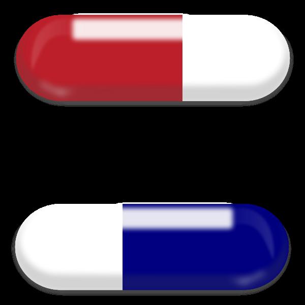 Vector illustration of pills