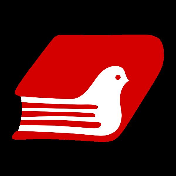 Book dove logotype