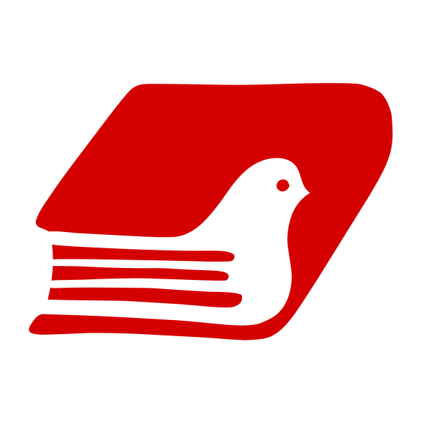 Book dove logotype