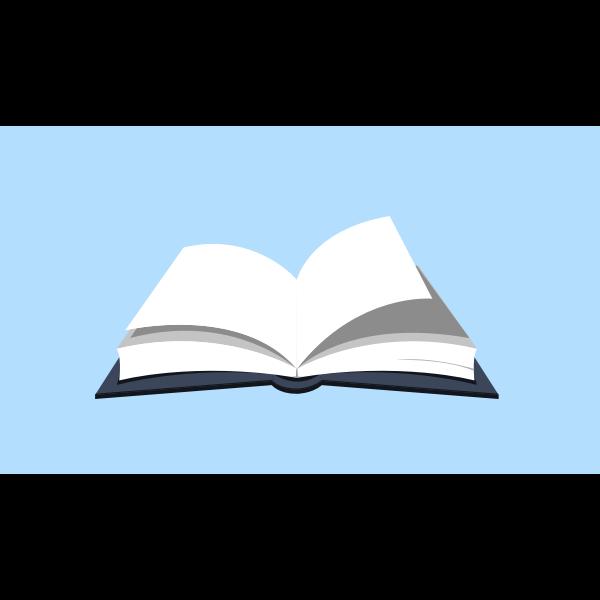 Open Book Cricut Cut Files Open Book Dxf File Open Book Cutting Files Open Book Svg Image