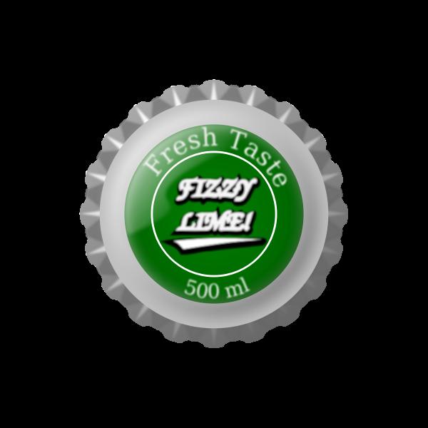 Vector image of bottle cap