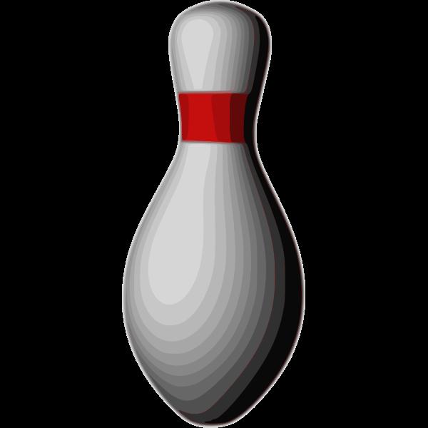Bowling duckpin vector illustration