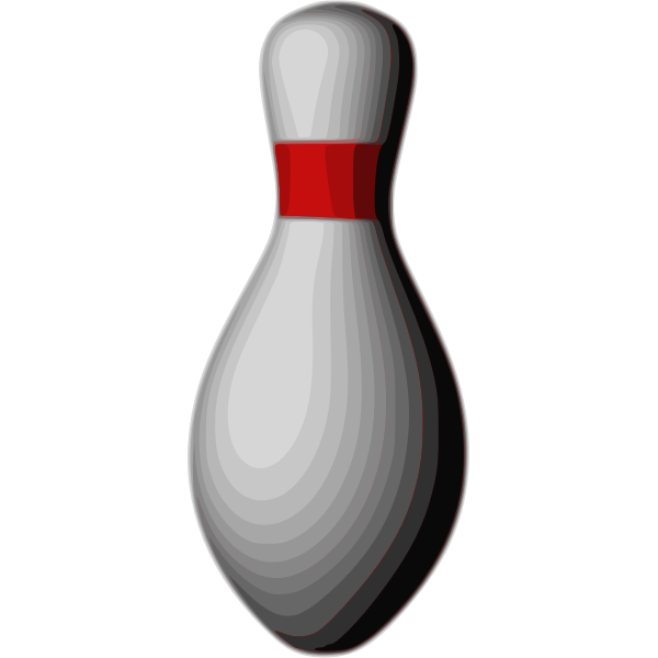 Bowling duckpin vector illustration