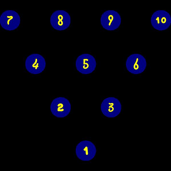Bowling Pin Layout
