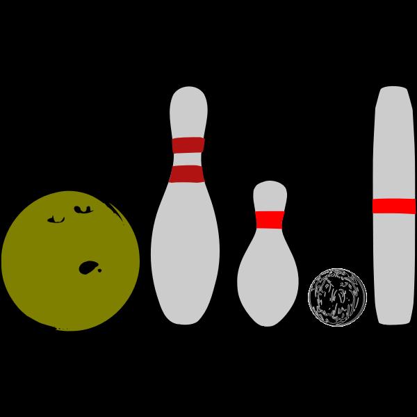 Bowling Pins and Balls
