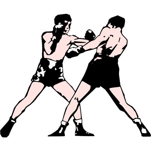 Boxers vector illustration