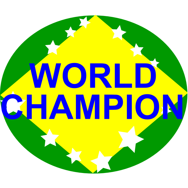 BRAZIL,WORLD CHAMPION