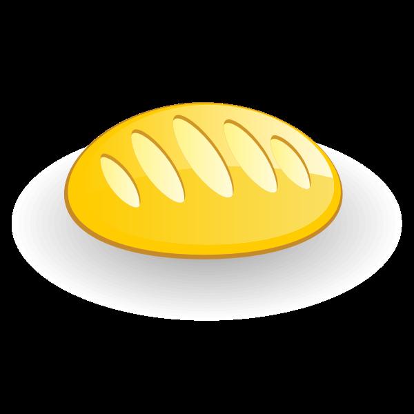 Bread icon vector drawing