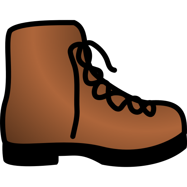 simple brown boot