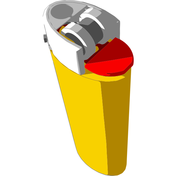 Vector image of plastic kettle