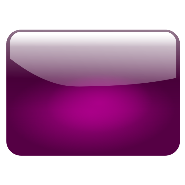Gloss violet square button vector graphics