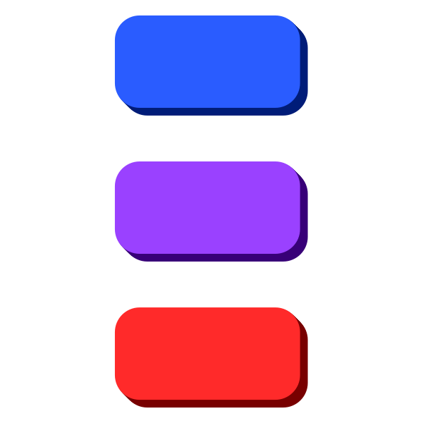 Colorful web buttons