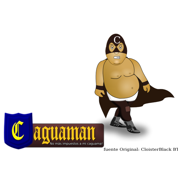 Caguaman vector image