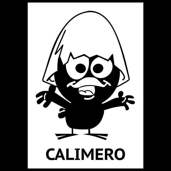 Calimero silhouette