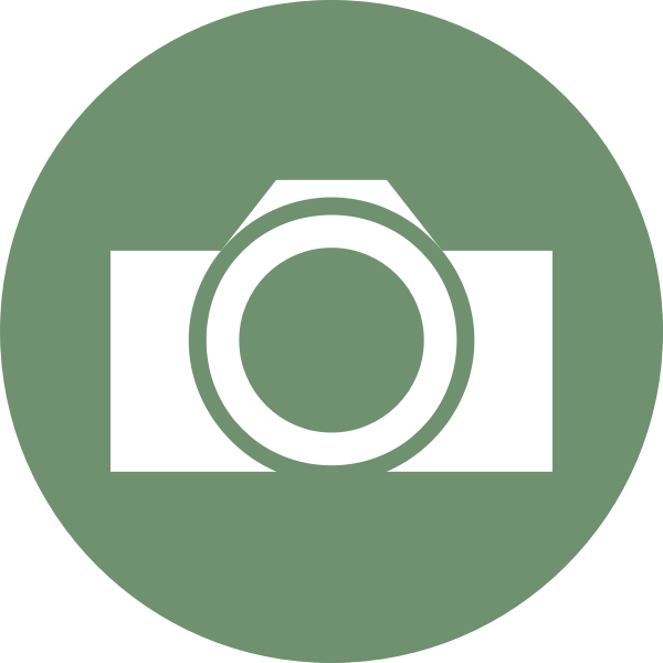 Vector image of camera icon