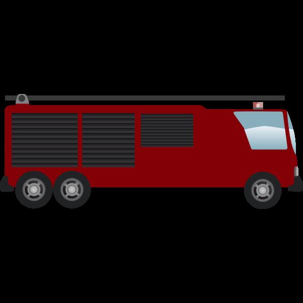 camion pompiers echelle