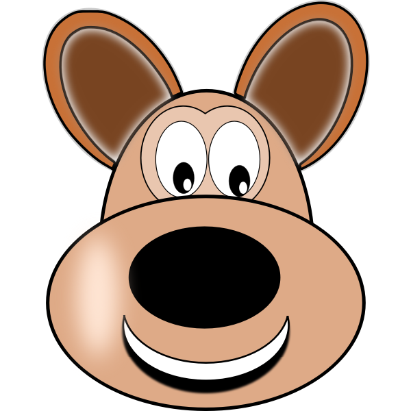 Cartoon animal vector drawing