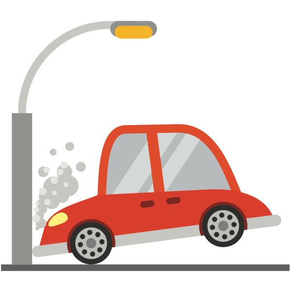 car crash clipart publicdomain