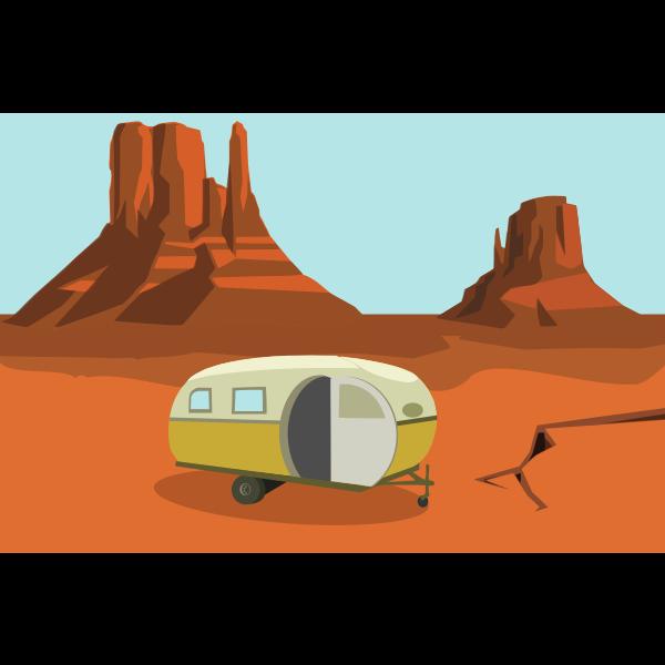 caravan in the desert glitch tower quest