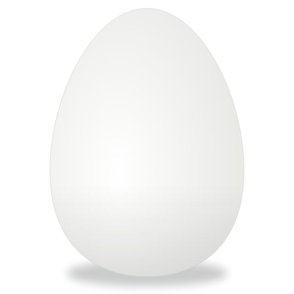 Vector illustration of whole egg