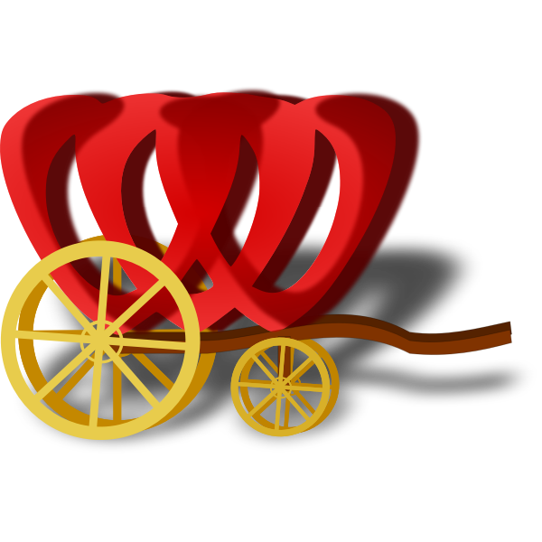 Carriage vector image