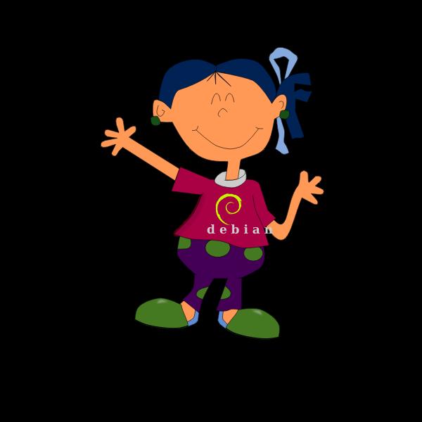 Cartoon girl image
