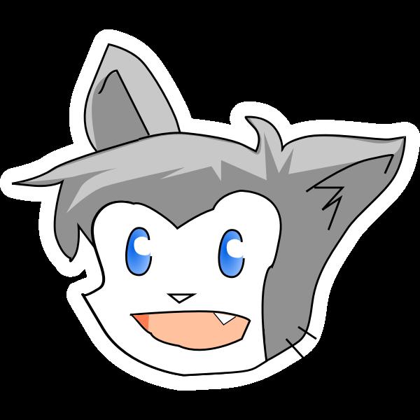 Cartoon cat clip art