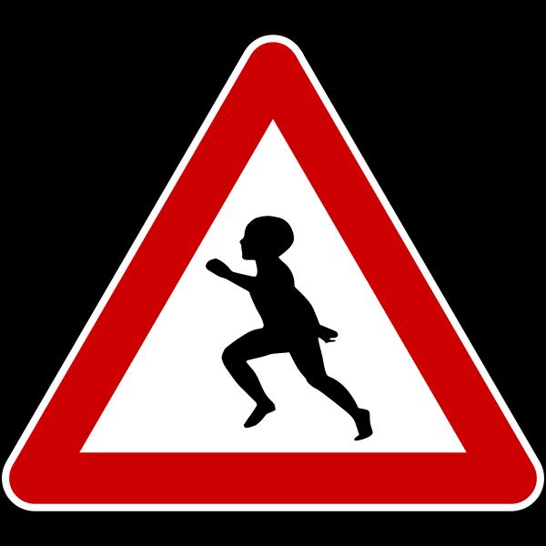 Caution child
